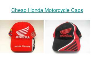 Cheap Honda Motorcycle Caps