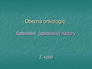 Z. Kolář