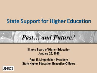 State Support for Higher Education