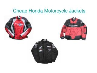 Cheap Honda Motorcycle Jackets
