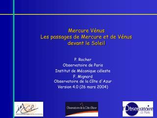 La planète Mercure -------