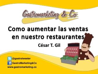 como aumentar las ventas en nuestros restaurantes