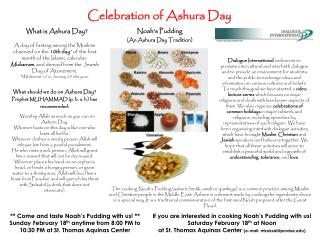 celebration of ashura day