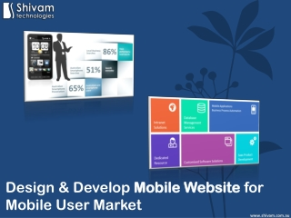 Design & Develop Mobile Website for Mobile User Market