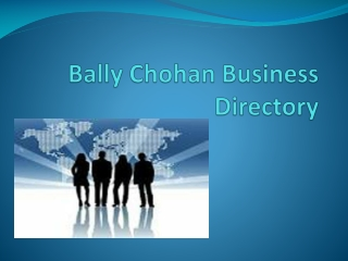Bally Chohan Business Directory UK