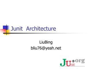Junit  Architecture