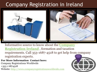 Company Registration in Ireland