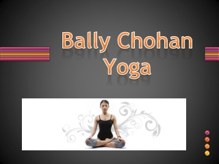 bally Chohan Yoga UK