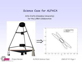 Science Case for ALPACA