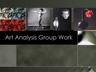 Art Analysis Group Work