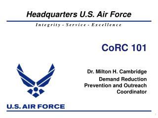 CoRC 101
