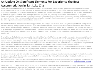 An Update On Significant Elements For Experience the