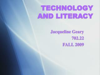 TECHNOLOGY 
