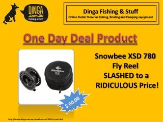 Snowbee XSD 780 Fly Fishing Reel