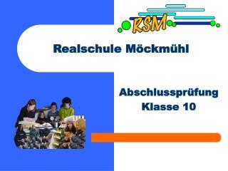 Realschule Möckmühl