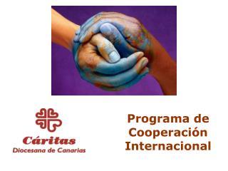 Programa de Cooperación Internacional