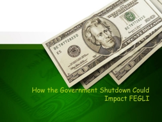 How the Government Shutdown Could Impact FEGLI
