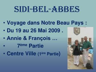 Sidi-bel-abbes