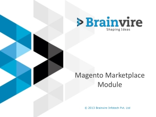 Magento Market Place