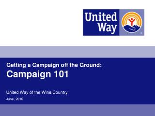 Getting a Campaign off the Ground: