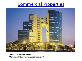 Commercial Properties in Gurgaon