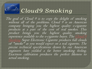 Know about the electronic cigarette smoker's paradise