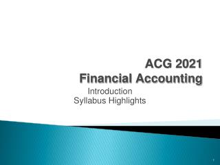 ACG 2021