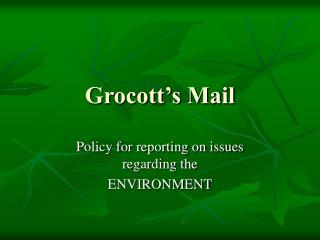 Grocott's Mail