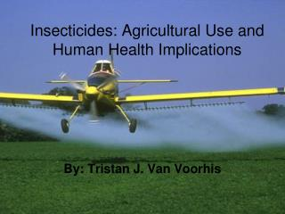 Effects indoor pesticides have on humans and the environment