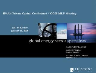 global energy sector specialists