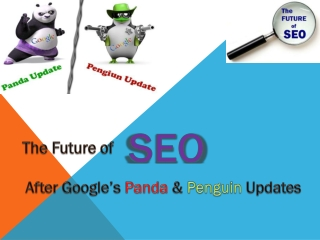 Future of SEO after Panda and Penguin update