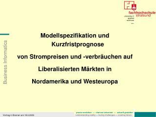 Vortrag in Bremen am 18.6.2009