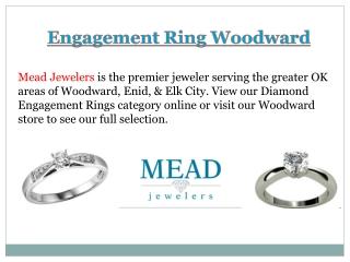 Engagement Ring Woodward