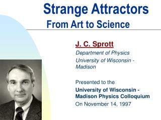 Strange Attractors