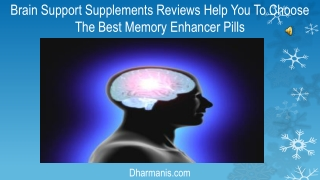 Brain Support Supplements Reviews Help You To Choose The Bes