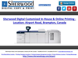 Sherwood Digital Customized