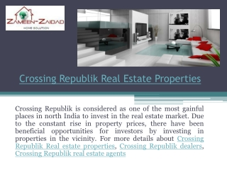 Crossing Republik Real Estate Properties