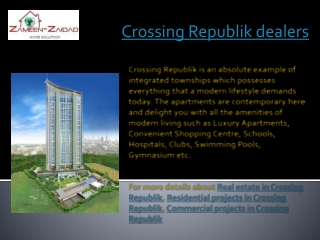 Crossing Republik dealers