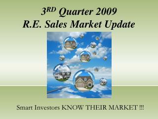 Smart Investors KNOW THEIR MARKET !!!