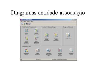 Diagramas entidade-associação