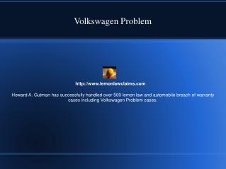 Volkswagen Problem