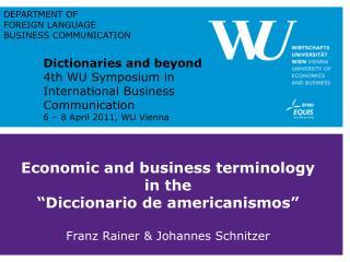 """The """"Diccionario de americanismos"""""""
