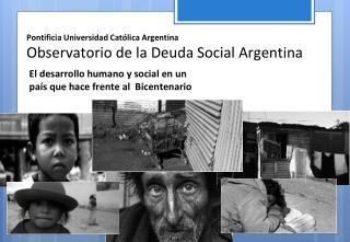 El Desarrollo Humano:  Paradigma Histórico
