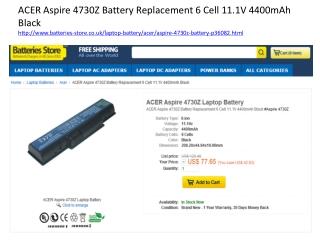 Acer Aspire 4730z battery