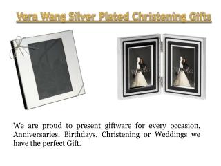 Vera Wang Silver Plated Love Knots Giftware