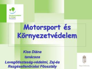 Motorsport és Környezetvédelem