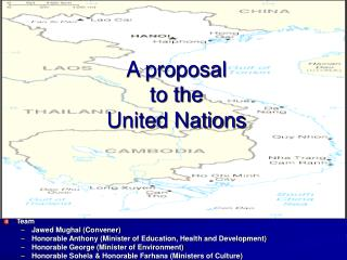 A proposal 