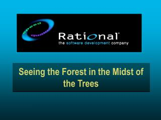 Seeing the Forest in the Midst of the Trees
