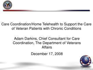 Care Coordination/Home Telehealth