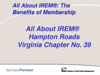 All About IREM®: The Benefits of Membership